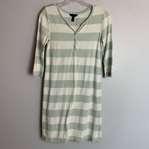 WELL LOVED SOMA STRIPED NIGHTGOWN SIZE XS